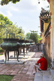 Imperial City in Hue, Vietnam Royalty Free Stock Photos
