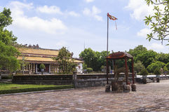 Imperial City in Hue, Vietnam royalty free stock image