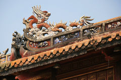 Imperial City - Hue - Vietnam Stock Photo