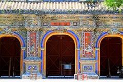 Hue Imperial City, Vietnam UNESCO World Heritage royalty free stock photo
