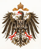Imperial Coat of arms of German Empire. Vintage Imperial Coat of arms of German Empire Stock Images