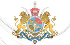 Imperial Coat of Arms of Iran Royalty Free Stock Image