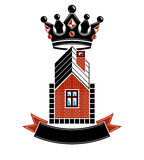 Imperial coat of arms, royal house conceptual symbol. Royalty Free Stock Photos