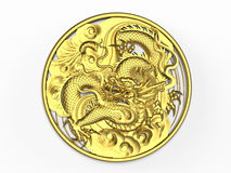 Imperial dragon ornament Stock Photography