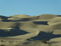 Imperial Dunes. Park at Yuma, AZ Stock Image