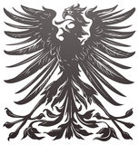 Imperial eagle design element. Imperial eagle most resembling that used on the coat of arms of the German empire in the late 19th century Royalty Free Stock Photos