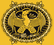 Imperial Eagle Seal Stock Image