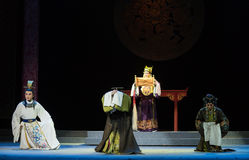 "The imperial edict-wealthy and influential family-Jiangxi opera ""Red pearl"" Stock Images"