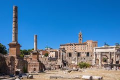 Imperial Fora Royalty Free Stock Photo