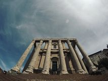 The Imperial Fora (Rome) Royalty Free Stock Photography