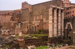 Imperial Fora, Rome Royalty Free Stock Photos