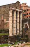 Imperial Fora, Rome Royalty Free Stock Image
