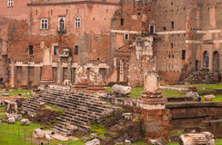 Imperial Fora, Rome Stock Image