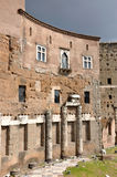 Imperial forum of Emperor Augustus. Rome, Italy Royalty Free Stock Photo