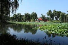 Imperial Garden of Beijing Stock Images