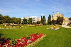 Imperial Gardens, Cheltenham. Royalty Free Stock Photo