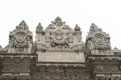 Imperial gate at Dolmabahce Palace in Istanbul Stock Images
