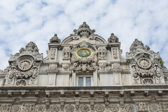 Imperial gate at Dolmabahce Palace in Istanbul Royalty Free Stock Photos