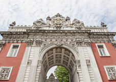 Imperial gate at Dolmabahce Palace in Istanbul Stock Photo