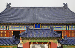Imperial Hall Temple of Heaven Beijing China Stock Photography
