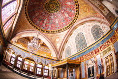 Imperial Hall of Topkapi palace Stock Image