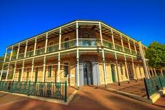 Imperial Inn York. York, Australia - Dec 25, 2017: Imperial Inn, Avon Terrace, York, popular tourist and historic town east of Perth. Heritage listed Victorian stock image