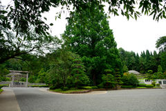 Imperial Mausoleum, Hachioji, Japan Royalty Free Stock Photo