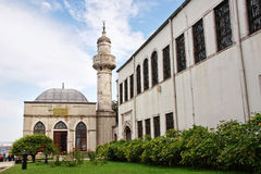 Imperial Mosque in Istanbul Royalty Free Stock Photos