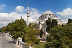 Imperial Mosque of Suleymaniye Stock Photo