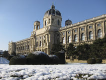 Imperial Natural History Museum in Vienna Stock Image
