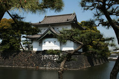Imperial palace. A tower of the imperial palace of tokyo in japan royalty free stock image
