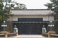 Imperial palace. In Tokyo, Japan royalty free stock photo