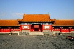 The Imperial Palace in Beijing Stock Photo