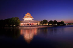 Imperial Palace in Beijing turret Royalty Free Stock Image