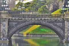 Imperial Palace bridge Royalty Free Stock Images