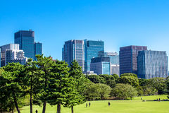 Imperial Palace East Gardens in Tokyo, Japan Stock Image