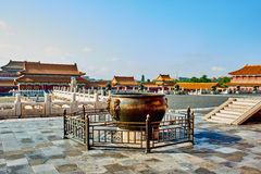 Imperial Palace Forbidden City Beijing China Stock Photo
