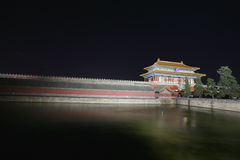 Imperial Palace (Forbidden City) night Stock Photo