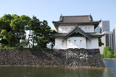Imperial Palace Gardens Moat Royalty Free Stock Images