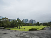 Imperial Palace gardens, Tokyo Royalty Free Stock Photo