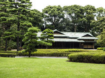 Imperial Palace gardens, Tokyo Stock Photo