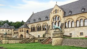 Imperial Palace in Goslar. Stock Images