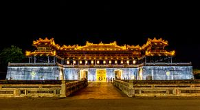 Imperial Palace, Hue, Vietnam Stock Photo