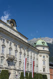 The Imperial Palace in Innsbruck, Austria. Royalty Free Stock Image
