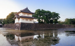 Imperial Palace. The Imperial Palace with its grounds is located on the site of the former residential palace of the successive Tokugawa Shoguns in the Edo Stock Photos