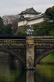 Imperial Palace in Japan. Imperial Palace in Chiyoda, Tokyo royalty free stock images