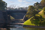 Imperial Palace in Japan, Tokyo Royalty Free Stock Photo