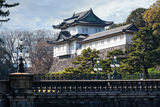 Imperial Palace in Japan, Tokyo Royalty Free Stock Images