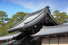 Imperial Palace, Kyoto Royalty Free Stock Images