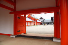 Imperial palace in Kyoto Royalty Free Stock Images